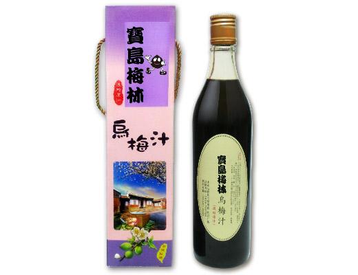 烏梅汁-單瓶禮盒裝
